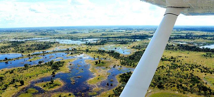 Vliegtickets Botswana
