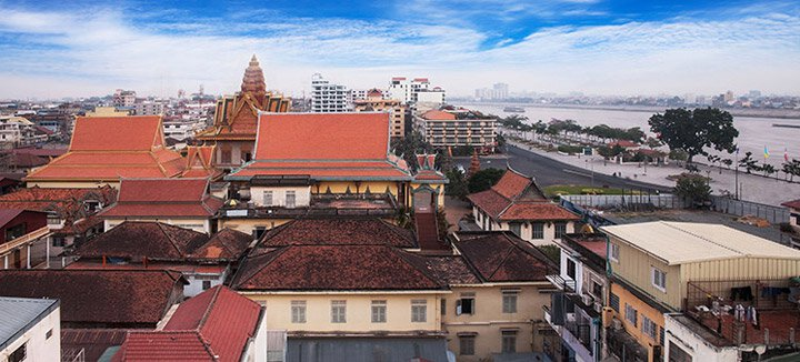 Vliegtickets Cambodja