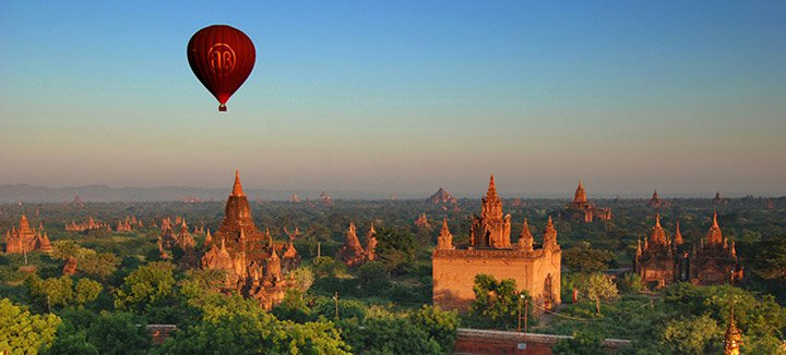 Vliegtickets Myanmar