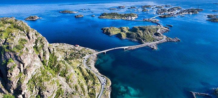 Vliegtickets Noorwegen