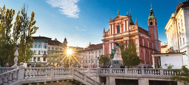 Vliegtickets Slovenië