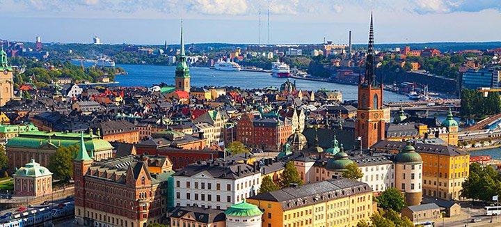 Vliegtickets Zweden