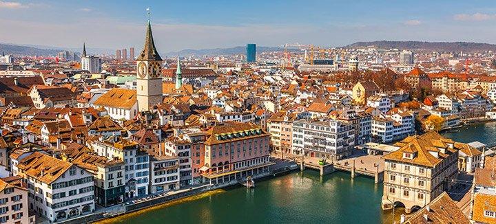 Vliegtickets Zwitserland