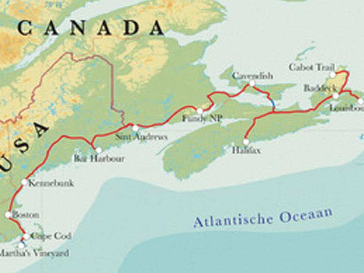 Groepsreis Oostkust Canada & New England