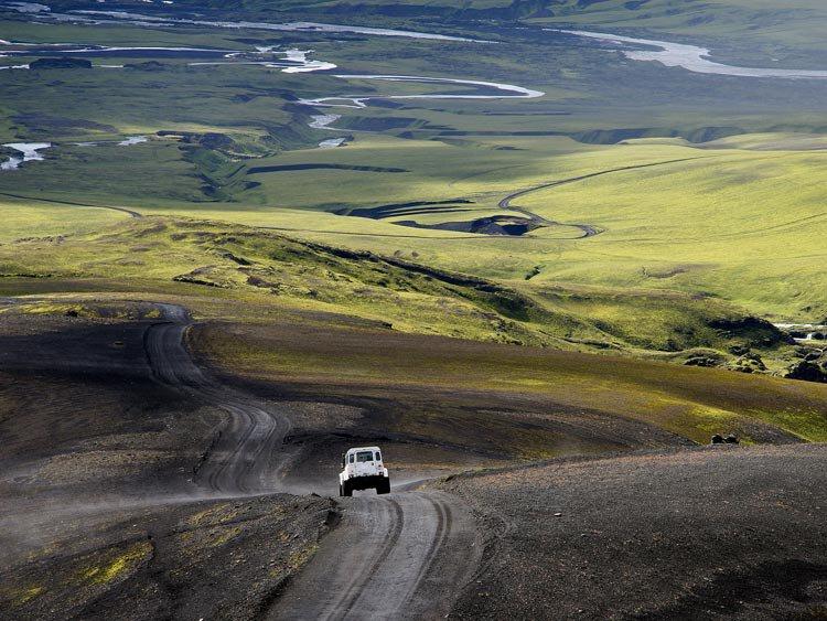 IJsland: het woeste binnenland