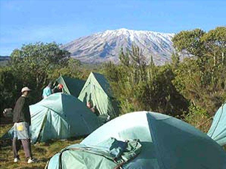 Kilimanjaro beklimming - Rongai route