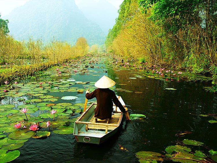 Reis langs de hoogtepunten van Vietnam