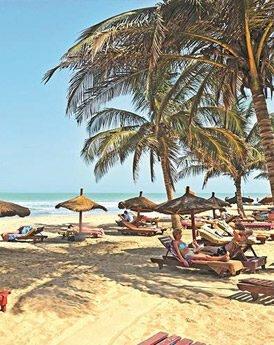 Stranden Gambia