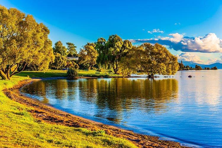 Taupo en omgeving