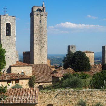 De 'Wolkenkrabbers' van Toscane