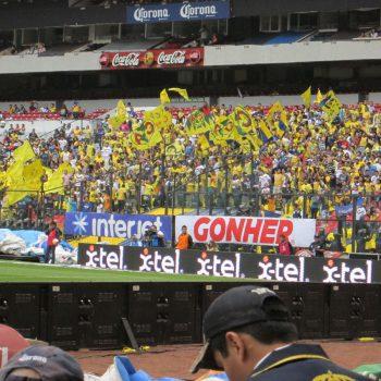 America de voetbalclub in Mexico-Stad