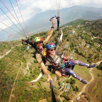 Paragliden in Pokhara