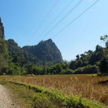 Omgeving Vang Vieng