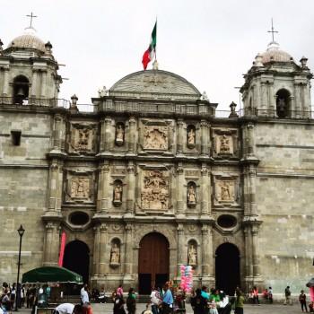 Kathedraal in Oaxaca