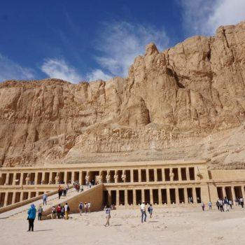 Prachtige tempel van Hatsjepsoet