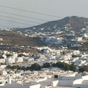 Aanzicht Mykonos