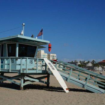 Baywatch op Santa Monica