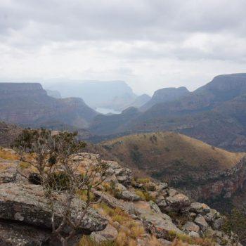 Niet ver vanaf Johannesburg prachtige uitzichten