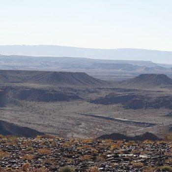 Oostzijde canyon bij de Fishriver lodge.