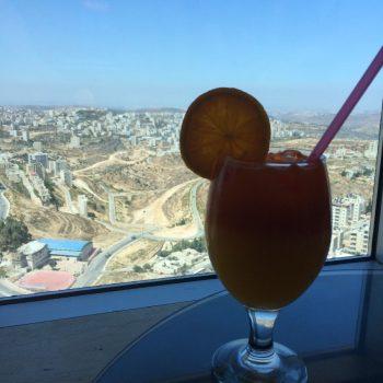Uitzicht over Ramallah
