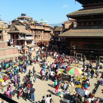 Kleurrijk Bhaktapur.