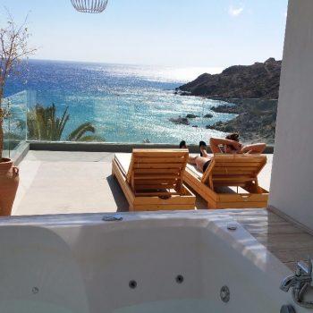 Hotel Poseidon (met masterchef restaurant!) in Afiartis