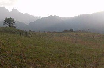 Prachtige omgeving van Drakensberg