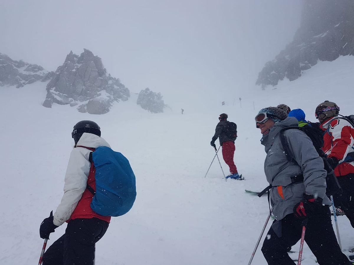 Les grands Montets in Argentière/Chamonix.