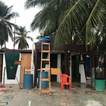 Toilet hutjes