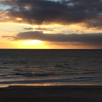 zonsondergang Gulf St Vincent