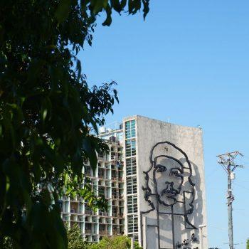 Ché op vele plekken in Havana