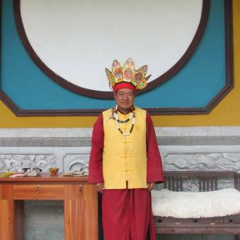 Dongba sjamaan