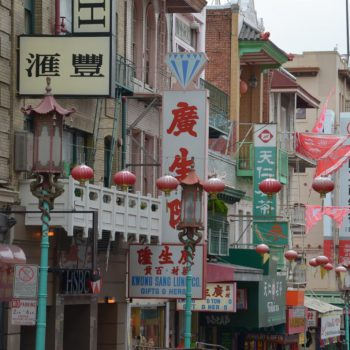 China Town in SF