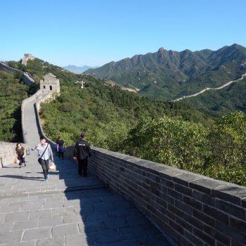 Chinese muur in Badaling
