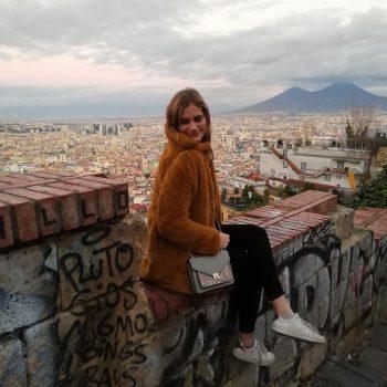 Uitzicht op de Vesuvius
