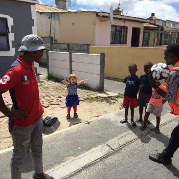 Onze dochter in Langa Township