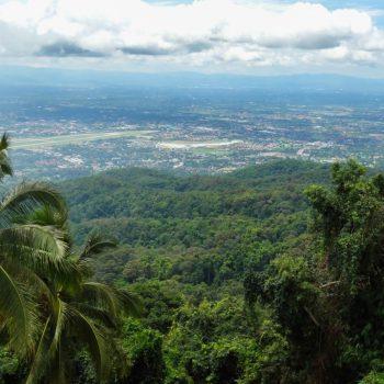 Uitzicht over de stad vanaf Doi Suthep