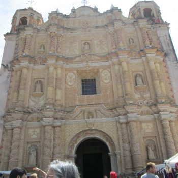 Grote kerk aan de Zocalo