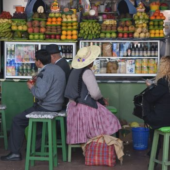 Heerlijke smoothies op de markt