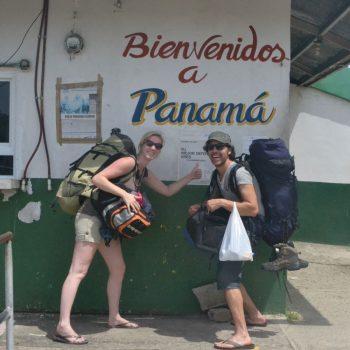 Grens over naar Panama