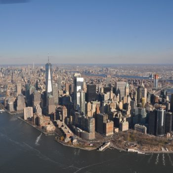 Helikoptervlucht over New York was geweldig