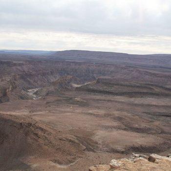 Fish River Canyon, wat een uitzicht