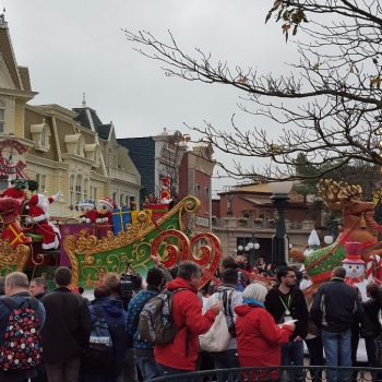 Christmas in Disneyland Paris