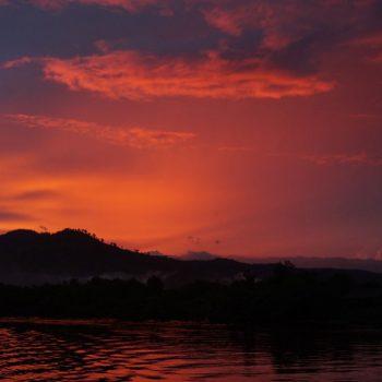 Zonsondergang Kampot