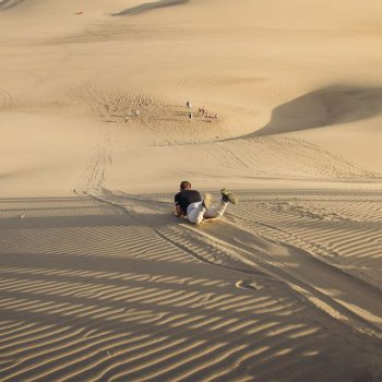 Zandduinen in Huacachina