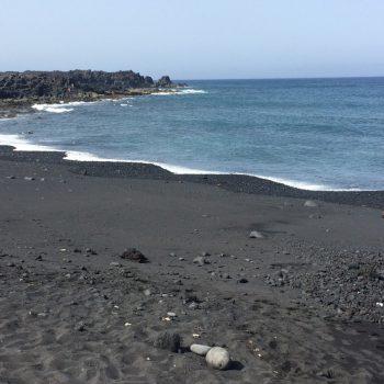 Vulkanisch strand