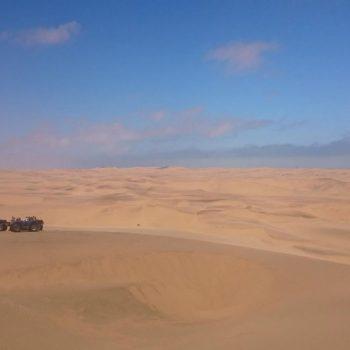 Quad rijden in de duinen