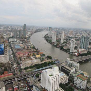 Uitzicht vanaf het Lebua State Tower hotel