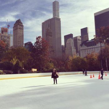 Schaatsen in Central Park