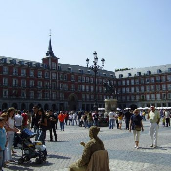 Het centrale plein Plaza Mayor